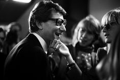 Yves Saint Laurent, Betty Catroux 1982 photo by VLADIMIR SICHOV