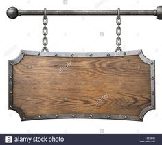 wood-sign-with-metal-frame-hanging-on-chain-isolated-EEGE4D.jpg (1300×1165)