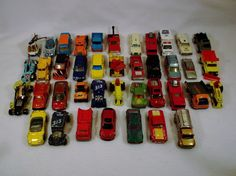 Large Lot of 40 Matchbox cars trucks 1970s to contemporary #Matchbox