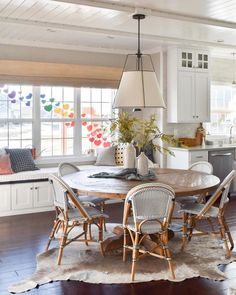 Shop the Riviera Side Chair and browse the rest of our Chairs at Serena and Lily. Farmhouse Kitchen Tables, Kitchen Benches, Dining Table In Kitchen, Small Round Kitchen Table, Room Kitchen, Bistro Chairs, Side Chairs, Breakfast Nook Table, Breakfast Room Ideas