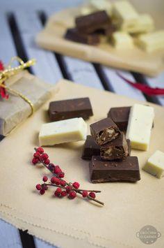 Domowe czekoladki jak Michałki