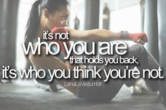 Your are who you think you are