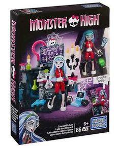 Monster High Mega Bloks Ghoulia Potion Lab Playset Building Set New | eBay