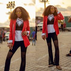 """Dr Lade Toyin-Kehinde Blogger on Instagram: """"Day 2 #gtbankfashionweekend  I was quite late and could hardly get a good picture till @manvibess came to the rescue🙌🏾😭 . . Mules:…"""" Cool Pictures, Blazer, Day, Jackets, Instagram, Women, Style, Fashion, Down Jackets"""