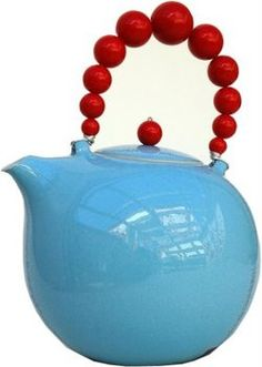 aqua and red...my 2 favorite colors