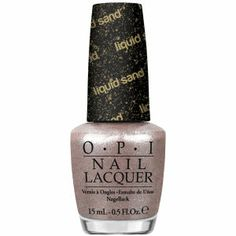 25 Must-have Nail Colors for Winter: OPI Silent Stars Go By Liquid Sand Lacquer (15ml) – selected by http://munich-and-beyond.com/
