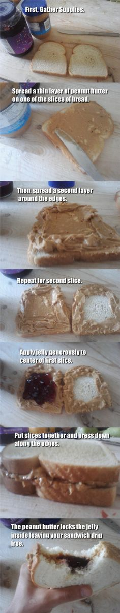 Peanut Butter and Jelly: Secret Technique - Imgur