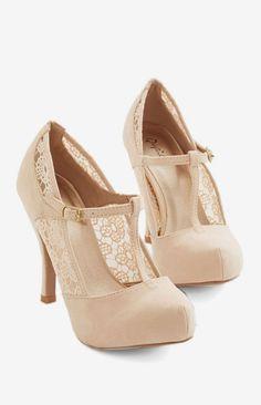 Gander at Glamour Heel in Ivory