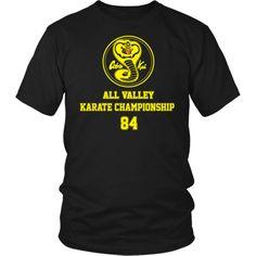 Cobra Kai - All Valley Karate Championship T Shirt / Hoodie