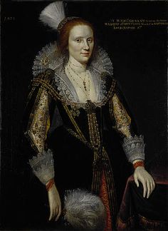 Margaret Graham, Lady Napier, d. c 1626. Sister of 1st Marquess of Montrose and wife of 1st Lord Napier
