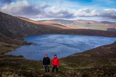 [Ireland][Wicklow Mountains] Overlooking the heart-shaped Lough Ouler on our way to the summit of Tonelagee #hiking #camping #outdoors #nature #travel #backpacking #adventure #marmot #outdoor #mountains #photography