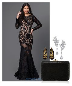 """""""Untitled #3050"""" by jem0kingston ❤ liked on Polyvore featuring Judith Leiber, Harry Winston and Dolce&Gabbana"""