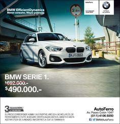 #BMW Serie 1 EXCLUSIVO en AutoFerro $490.000. Consultanos! www.autoferro.com