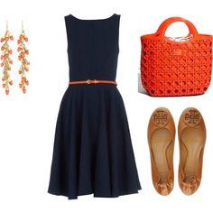 spring, blue and orange