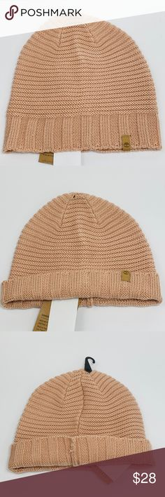 NWT Timberland Tan Beige Beanie Hat NWT new with tags Timberland Beanie Hat.  Color is 74bf2743f336