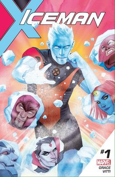 Iceman #1 I'll be the ongoing cover artist! Written by Sina Grace, art by Alessandro Vitti! http://nerdist.com/iceman-creative-team-talks-the-x-men-heros-first-ongoing-series-and-coming-out/