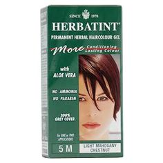 Herbatint Permanent Herbal Haircolor Gel, 5M Light Mahogany Chestnut, 4.56 Ounce -- You can get more details here : Natural Beauty Care