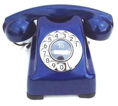 Color Azul Cobalto - Cobalt Blue!!! Telephone