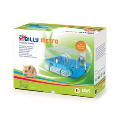 Savic Billy Metro Hamster Cage Assorted Colors One Size Assorted >>> Make certain to examine out this incredible item. (This is an affiliate link). Small Animal Cage, Pet Cage, Toy Chest, Pet Supplies, The Incredibles, Pets, Colors, Link, Animals