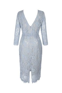 7a1d26fe64c baby blue leavers lace back Alice Blue, Lace Back, French Lace, Buy Dress