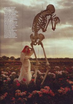 Harper's BAZAAR US October 2009│TIM BURTON'S TRICKS & TREATS│Malgosia Bela말고시아 베라, Evelina Mambetova이블리나 맘베토바, & Sophie Srej소피 스레 :: 네이버 블로그