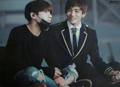 VKOOK Friends for life.