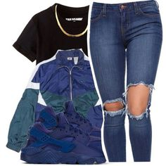 Uploaded by | charvaé |. Find images and videos about fashion, outfits and Polyvore on We Heart It - the app to get lost in what you love. Chill Outfits, Cute Swag Outfits, Dope Outfits, Teen Fashion Outfits, Cute Fashion, Outfits For Teens, Trendy Outfits, Black Outfits, Vacation Outfits