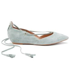 Introducing Stitch Fix Shoes: Suede Lace-Up Flats