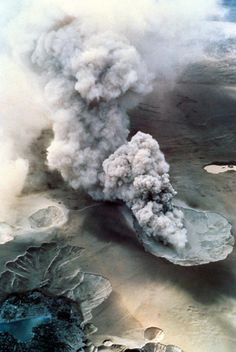 ♥ Volcano.  Photographer unknown