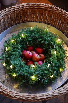 Christmas wreath LILJOR OCH TULPANER