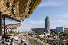 https://flic.kr/p/yu4AkX | Torre Agbar from Mercat dels Encants