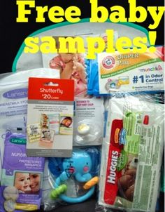 FREE Diaper Bags Filled with Free Baby Samples | Free baby stuff