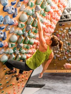 what optimal shoulder posture looks like when climbing, hanging and training.