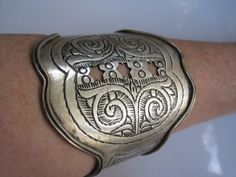 Hey, I found this really awesome Etsy listing at https://www.etsy.com/listing/210154111/jewish-moroccan-bracelet-wide-tribal