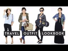 Hello, lovies!! Today I bring you a new LOOKBOOK video filled with great ideas for traveling outfits! It's always easy to just throw on an old tee shirt and ...