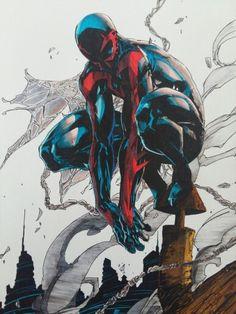 Spiderman 2099 finish