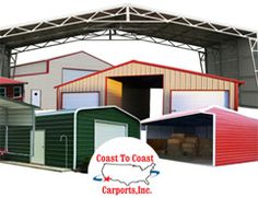Metal Carports, Custom Built, BEST In The US! Metal Carports From Coast To