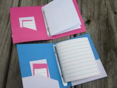 American Girl DIY binder notebooks