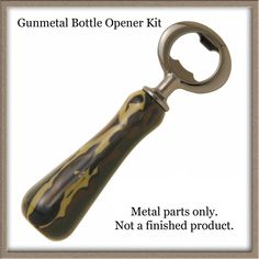 Small Lathe, Bottle Stoppers, Bottle Openers, Lathe Projects, Wood Lathe, Wood Turning, Wood And Metal, Chrome, Kit