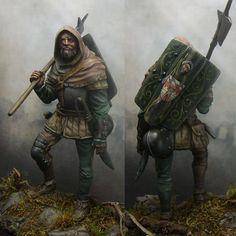 Figures: Mercenary, XV cent.