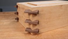 Create Decorative, Strong Boxes with Infinity's Exclusive Tapered . Woodworking Basics, Woodworking Projects That Sell, Woodworking Joints, Woodworking Techniques, Fine Woodworking, Woodworking Crafts, Woodworking Apron, Diy Wooden Projects, Wooden Diy