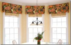 straight valance with rod pocket design and pleated sides