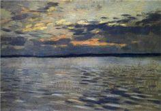 The Lake. Eventide. - Isaac Levitan
