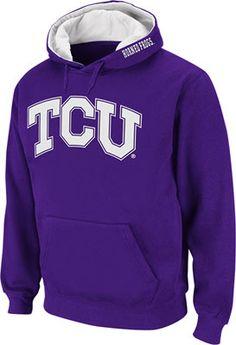 TCU Horned Frogs Purple Twill Tailgate Hooded Sweatshirt