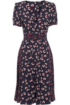Adaline's Gucci Printed Silk Crepe De Chine Dress #AgeOfAdaline