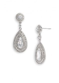 Just like her iconic look from Breakfast At Tiffany's- add some sparkle to your look with these beautiful earrings.