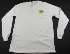 Girl Scouts Gold Award Shirt Womens Size Large White Long Sleeve New w/ Defects #GirlScouts #GraphicTee