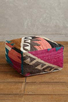 Chambal Pouf - anthropologie.com we need one of these