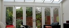 Timber Bifold Door.