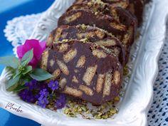 #μωσαϊκό #κορμός #σοκολάτα #nobake #mosaiccake #chocolate #nostimiesgiaolous Desserts, Food, Deserts, Dessert, Meals, Yemek, Postres, Eten